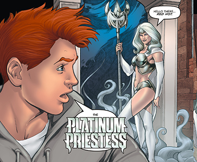 The Platinum Priestess