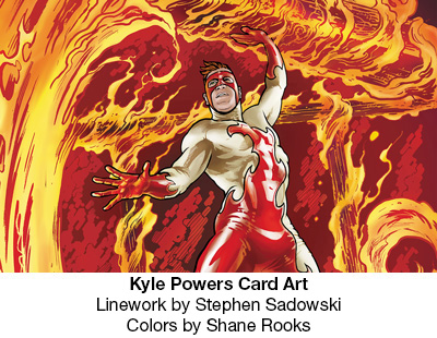 Power-Kyle - AMW Comics